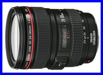 Canon EF 24-205mm f/4L IS USM lens